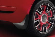 Fiat Exterior Accessories / #Fiat exterior accessories for Fiat 500 Abarth, Lounge, Pop and Sport models.