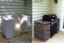House-outdoor kitchens