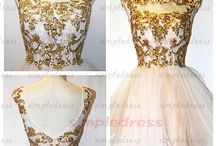 Ball Dress and Gowns and Wedding Dresses White or Black or Red
