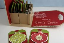 Christmas TAGS / by Marilyn Atencio
