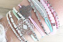 Armbandjes- gekleurd elastiek