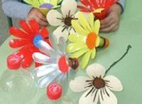 flores plasticos