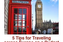 Traveling Across Europe / Traveling Across Europe