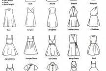 elbise modeli çizimleri