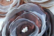 Λουλούδια από τούλι
