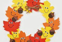 ősz dekorok