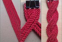 cinturón con cordones