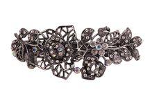 WIECZOROWE SPINKI DO WŁOSÓW / Piękne kryształowe spinki na każdą okazję