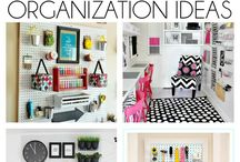 Organization ideas for craft room / Organization ideas for craft room. Craft storage ideas.