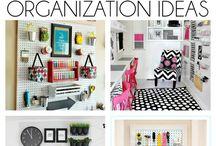 Organization ideas for craft room / Organization ideas for craft room. Craft storage ideas.