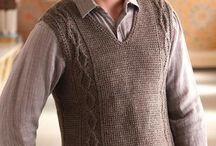Hombres a Crochet