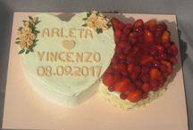 Meine Torten zur Hochzeit