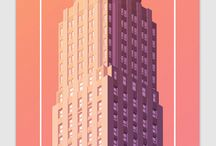 building poster