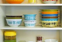 My Pyrex  / Great for a lot of things and pretty