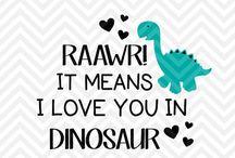 Zoe's dinosaur room