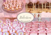 Ballerina sweet table / A sweet table full of pink and tulle
