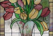 Glavitra / Angel stained glass