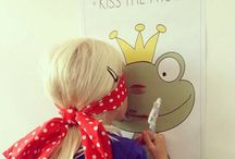 Kissing the frog