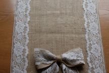 Burlap country wedding / by Angie Cory