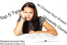 University and Course Tips
