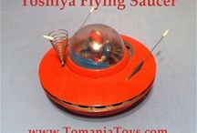 Flying Saucer - Flyvende Tallerken - Space Ships / Space Ships - Flying Saucer