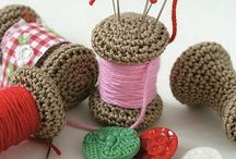 Knitting Craft Ideas / Homework from Hilary (my boss) :   Find crafty, fun ways to use wool other than for knitting up garments.