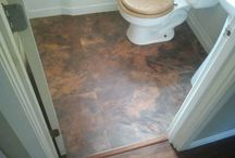 Flooring Projects / Beautiful installations of flooring done throughout many different styles of homes.