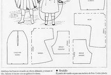 Образцы одежды для кукол