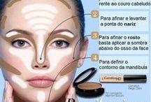 pele e make-up