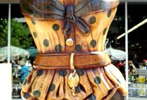 Corsets and Dress Forms oh my! / Vintage and modern Corset and dress forms,