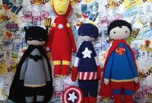 Crochet lalylala dolls