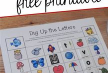 Phonemic Awareness / Activities, ideas and printables to help your child/student with their letter sounds.