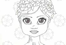 Coloring pages / by Susan Walthes