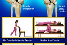 Dislocated knee exercises