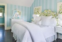 #1's room makeover / young girls' bedroom ideas / by Kristin Bustamante