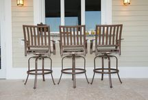 Outdoor Bars & Stools / Swivel Barstools for your patio