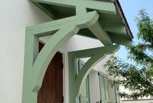 entry door overhang