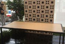 """Exhibit design Cersaie 2015 Vietri Home Parva Domus Magna Quies / Exhibit design for Granese Studio - Architecture & Design di #DiegoGranese. """"La Nostra Cultura, La Nostra Tradizione, I Nostri colori """""""