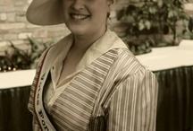 Heather Dawson wearing East Angel Harbor  Hat