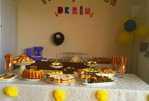 derin's bee birthday party