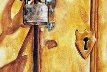 Akvarell csendélet / Watercolor still life
