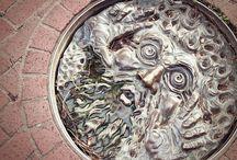 :: manhole cover ::