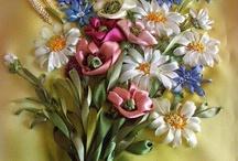 flores de lazos