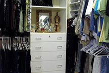 Closet makeover ideas  / by Linda Catron Worley