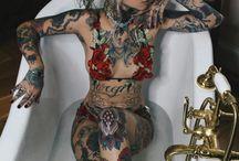 Full Body Tattoo #Girls