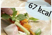 kalorienarme Gerichte
