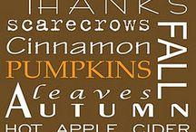 Halloween/ Thanksgiving (Autumn)