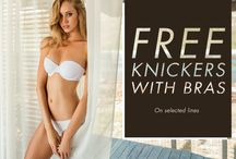 Summer Bra Solutions / But first...underwear! Every girl needs those essential bras as a foundation to their summer wardrobe. From strapless to multiway and backless, we now have FREE knickers with the styles you need most this season. Happy styling  Love Miss B x Shop free knickers with bra solutions here >> http://www.bouxavenue.com/free-knickers-offer