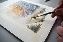DIY Aquarelle