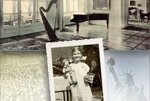 """The House in Prague / Excerpts and photos from Anna Nessy Perlberg's amazing memoir, The House in Prague. The Nazis have invaded Prague in 1939. Little Anna huddles with her doll in the corner of a train car while a German officer shrieks, """"You are Jews!"""" Fleeing for their lives, her family has abandoned their elegant house near Prague Castle, bringing their life of privilege to an abrupt halt.   In this memoir that reads like a novel, join Anna as she tries to become an American girl in New York City."""